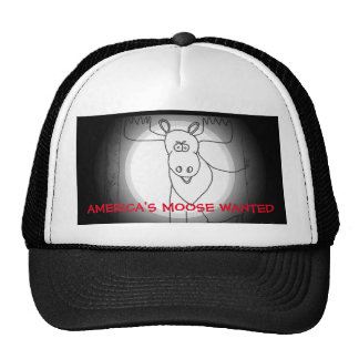 America's Moose Wanted Trucker Hat