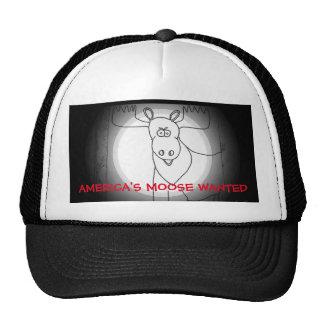 America's Moose Wanted Trucker Hat