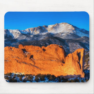 America's Mountain at Sunrise Mouse Pad