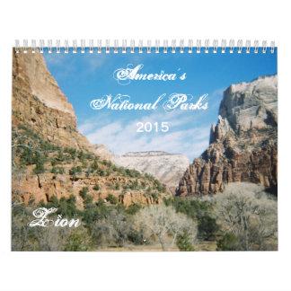 America's National Parks 2015  Calendar