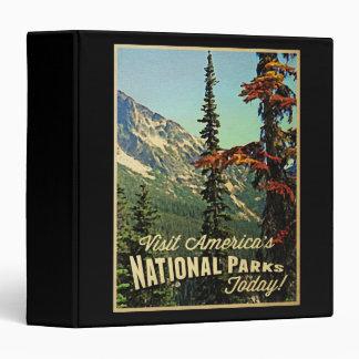 America's National Parks Vinyl Binders