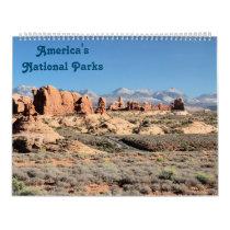 America's National Parks Calendar