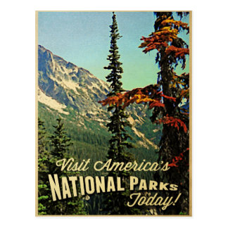 America's National Parks Post Cards