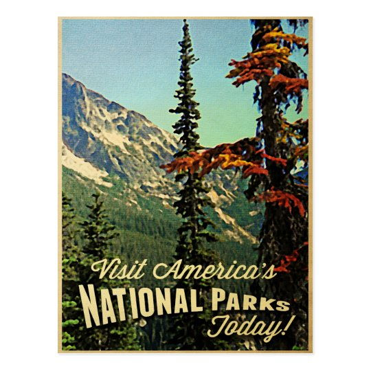 America's National Parks Postcard