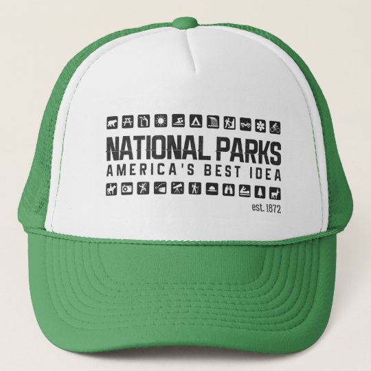 815c5fa89e0 America s National Parks trucker hat
