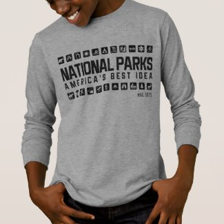 America's National Parks women's raglan shirt