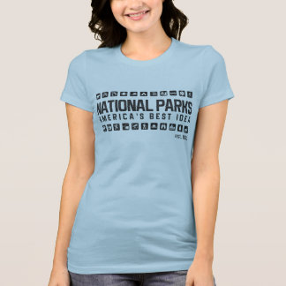 America's National Parks women's tshirt