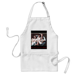 AMERICA'S NEW FIRST FAMILY ADULT APRON