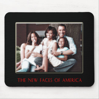 AMERICA'S NEW FIRST FAMILY MOUSE PAD