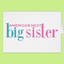America's Next Big Sister Card