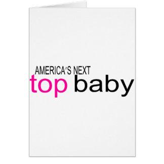 Americas Next Top Baby Card