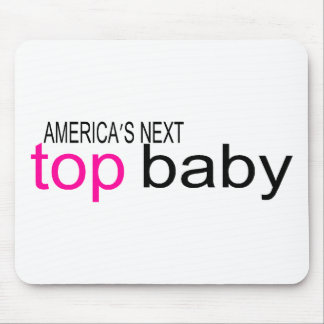 Americas Next Top Baby Mouse Pad