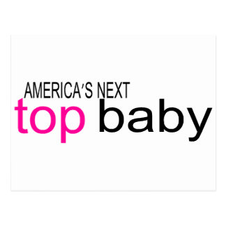 Americas Next Top Baby Postcard