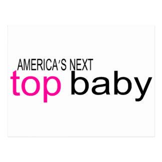 Americas Next Top Baby Postcard