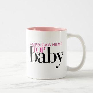 America's Next Top Baby Two-Tone Coffee Mug