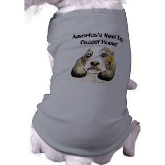 America's Next Top Basset Hound dog shirt