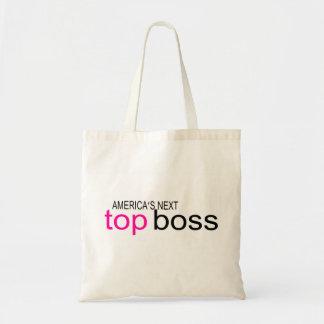 Americas Next Top Boss Tote Bags