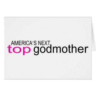 Americas Next Top Godmother Card
