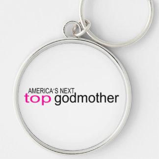 Americas Next Top Godmother Keychain