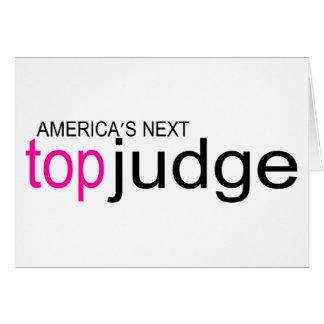 Americas Next Top Judge Card