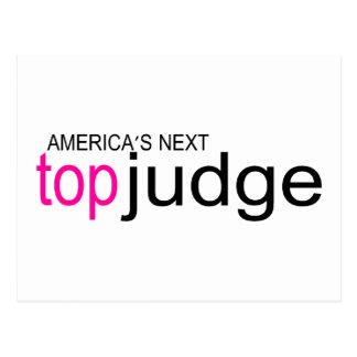 Americas Next Top Judge Postcard