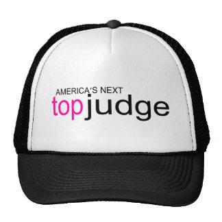 Americas Next Top Judge Trucker Hat
