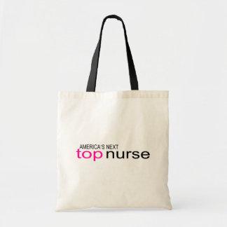 Americas Next Top Nurse Canvas Bags