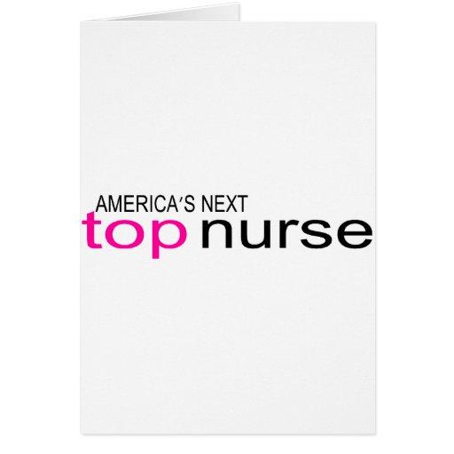 Americas Next Top Nurse Card