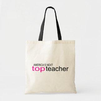 Americas Next Top Teacher Tote Bags