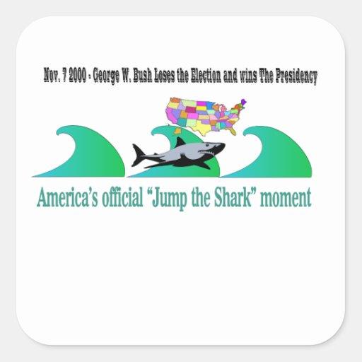 "America's Official ""Jump the Shark"" Moment Sticker"