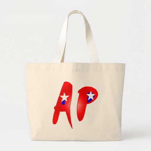 America's Paranormal Merchandise Red Canvas Bag