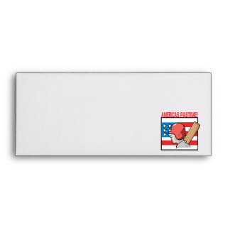 Americas Pastime Envelopes