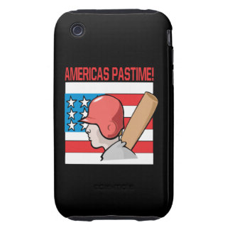 Americas Pastime Tough iPhone 3 Cover