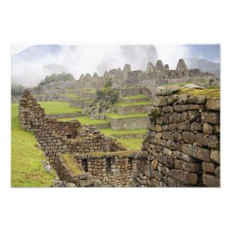 Américas, Perú, Machu PIcchu. El antiguo Impresiones Fotograficas