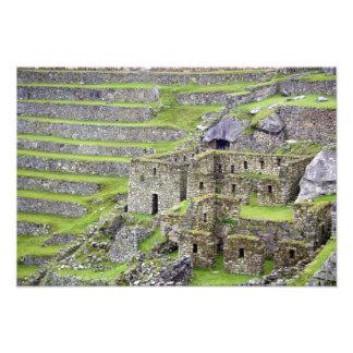 Américas, Perú, Machu PIcchu. Los 2 antiguos Cojinete