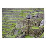 Américas, Perú, Machu PIcchu. Los 2 antiguos Tarjeta