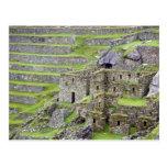 Américas, Perú, Machu PIcchu. Los 2 antiguos Postal