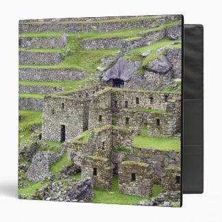 Americas, Peru, Machu PIcchu. The ancient 2 Binder