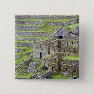 Americas, Peru, Machu PIcchu. The ancient 2 Button