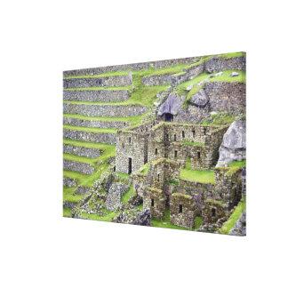 Americas, Peru, Machu PIcchu. The ancient 2 Canvas Print