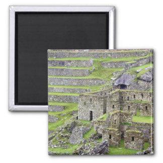 Americas, Peru, Machu PIcchu. The ancient 2 Magnet