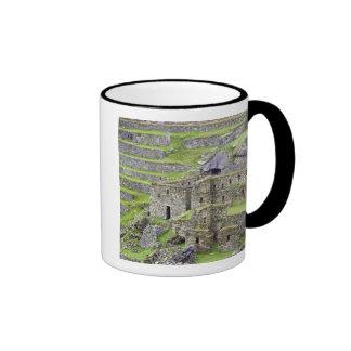 Americas, Peru, Machu PIcchu. The ancient 2 Ringer Mug