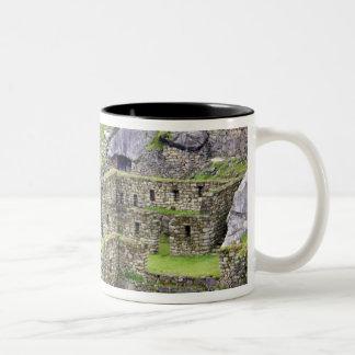 Americas, Peru, Machu PIcchu. The ancient 2 Two-Tone Coffee Mug