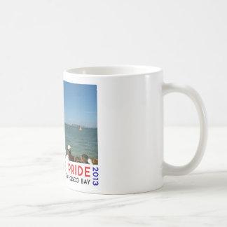 AMERICA'S PRIDE CLASSIC WHITE COFFEE MUG
