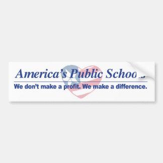 America's Public Schools Bumper Sticker