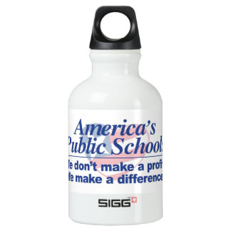 America's Public Schools Make a Difference Bottle