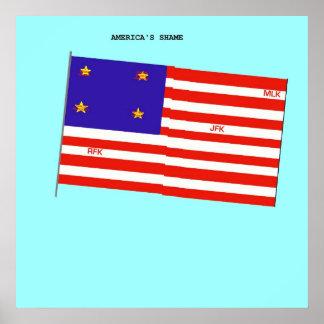America's Shame Poster