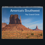 "America&#39;s Southwest - The Grand Circle Calendar<br><div class=""desc"">Enjoy the beautiful landscape of America&#39;s Southwest in 14 stunning photogaphs. The calendar presents the Parks of Arizona and Utah including the Zion National Park,  Bryce Canyon National Park,  Canyonlands National Park,  Monument Valley,  Antelope Canyon and the Grand Canyon National Park.</div>"