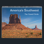 """America&#39;s Southwest - The Grand Circle Calendar<br><div class=""""desc"""">Enjoy the beautiful landscape of America&#39;s Southwest in 14 stunning photogaphs. The calendar presents the Parks of Arizona and Utah including the Zion National Park,  Bryce Canyon National Park,  Canyonlands National Park,  Monument Valley,  Antelope Canyon and the Grand Canyon National Park.</div>"""