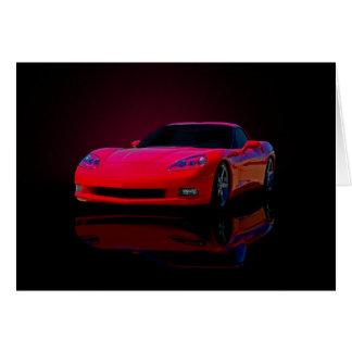 Americas Sports Car Card